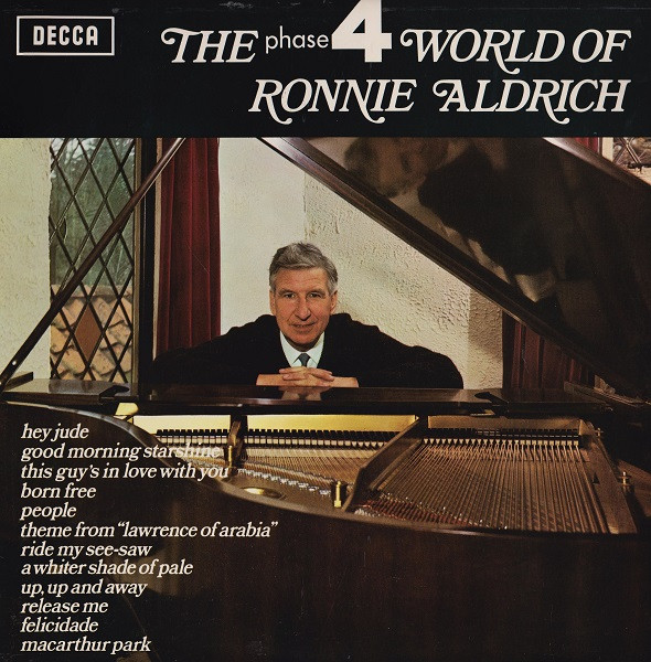 Aldrich, Ronnie The Phase 4 World Of Rionnie Aldrich Vinyl