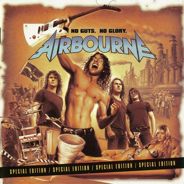 Airbourne No Guts. No Glory. CD