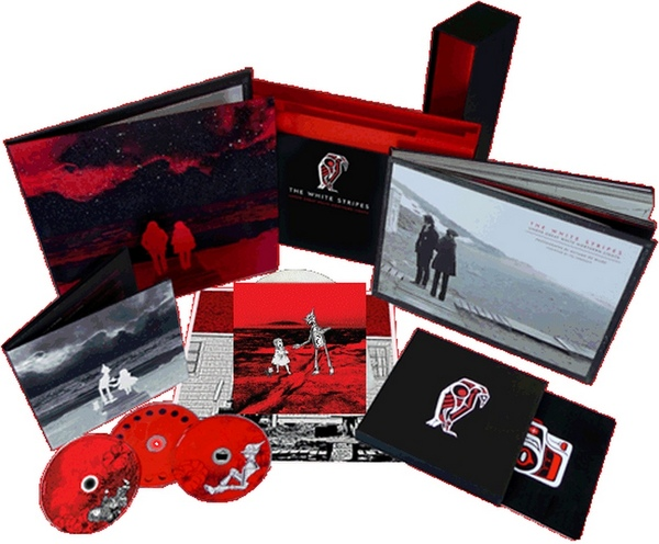 The White Stripes Under Great White Northern Lights - Box Set Limited Edition