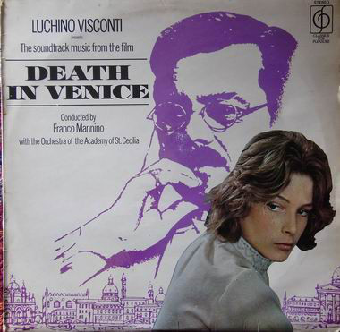 Luchino Visconti Death In Venice Vinyl