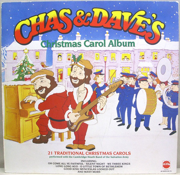 Chas & Dave Chas And Dave's Christmas Carol Album Vinyl