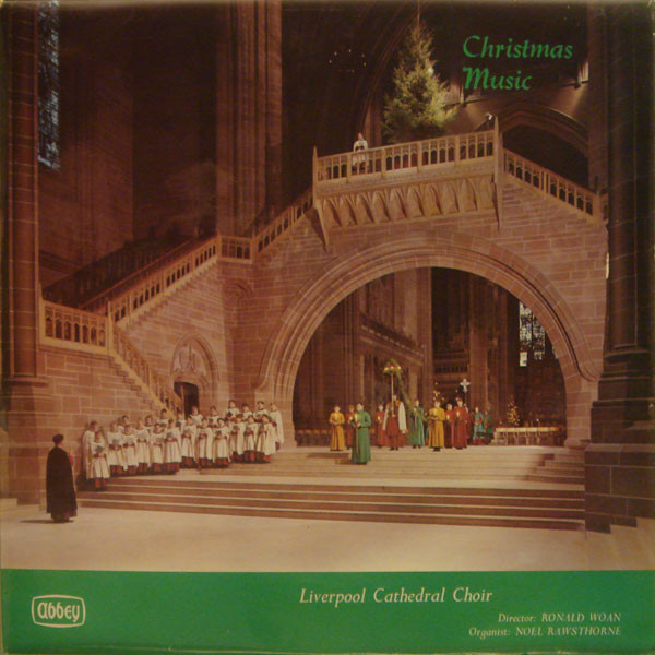 Liverpool Cathedral Choir Christmas Music Vinyl