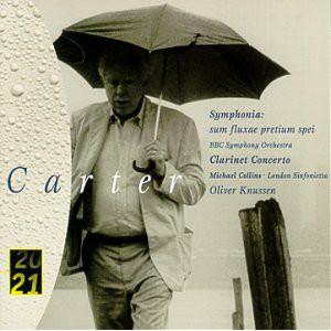 Carter - Collins, London Sinfonietta, BBC Symphony Orchestra, Knussen Symphonia - Clarinet Concerto Vinyl