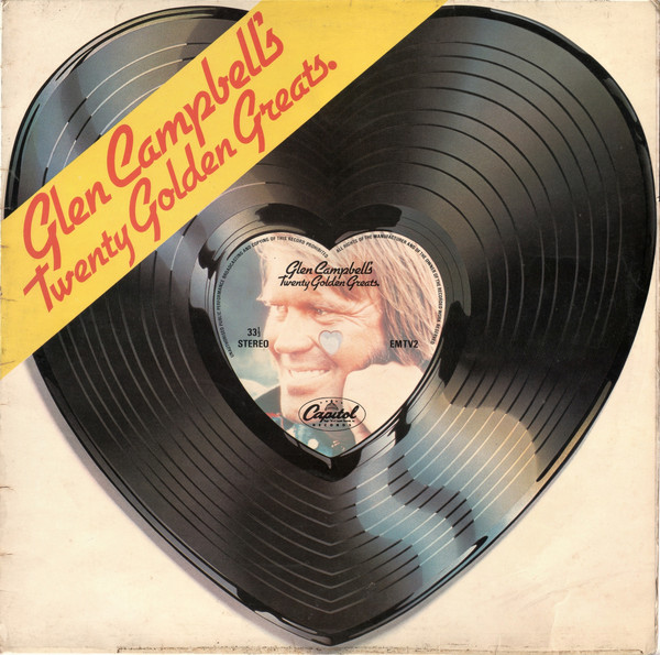 Campbell, Glen Glen Campbell's Twenty Golden Greats Vinyl