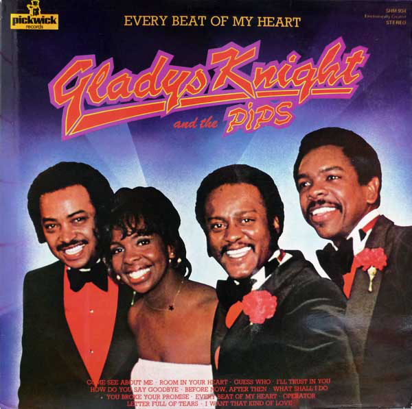 Gladys Knight And The Pips Every Beat Of My Heart Vinyl