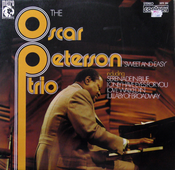 Oscar Peterson Trio Sweet And Easy