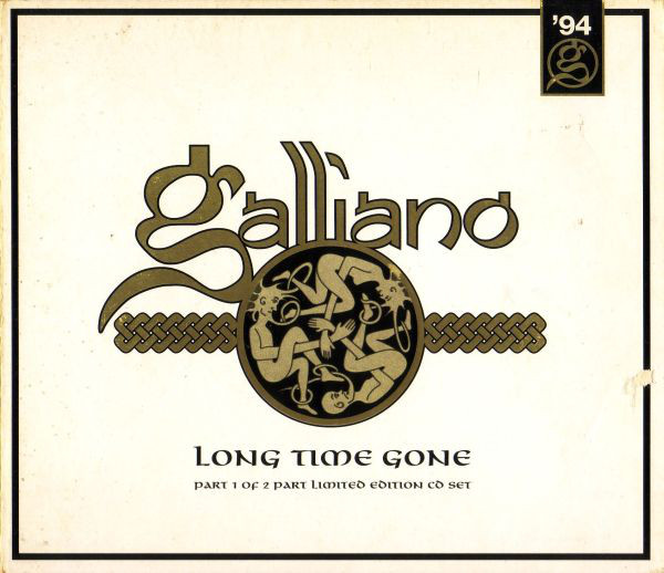 Galliano Long Time Gone CD