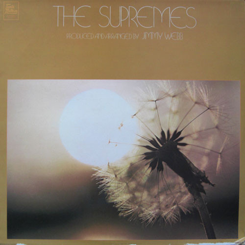 The Supremes The Supremes Produced And Arranged By Jimmy Webb