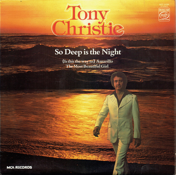 Christie, Tony So Deep Is The Night Vinyl