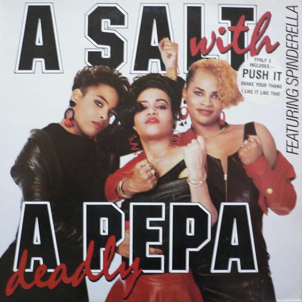 Salt N Pepa A Salt With A Deadly Pepa Vinyl