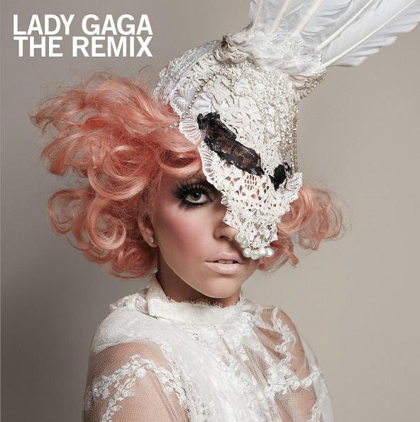 Lady Gaga The Remix CD