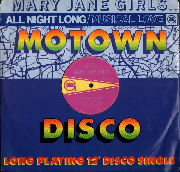 Mary Jane Girls All Night Long Vinyl
