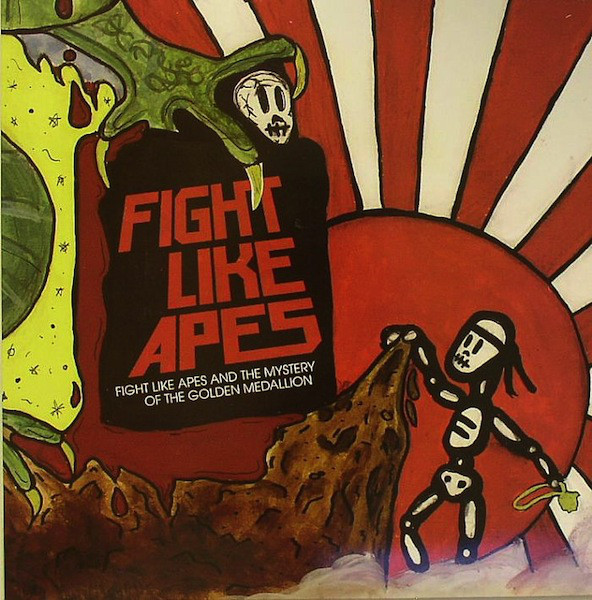 Fight Like Apes And The Mystery Of The Golden Medallion CD
