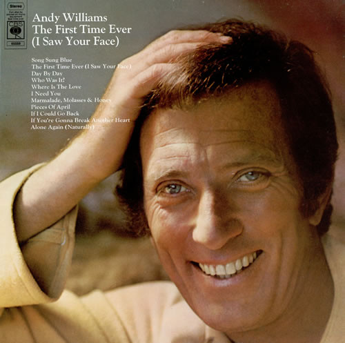 Williams, Andy The First Time Ever (I Saw Your Face) Vinyl