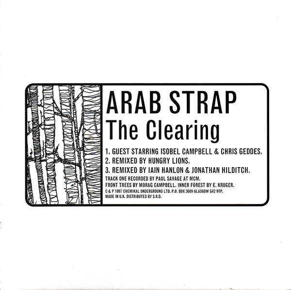 Arab Strap The Clearing CD