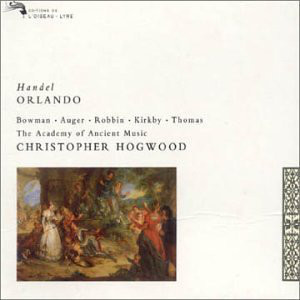 Handel ‎– The Academy Of Ancient Music, Christopher Hogwood Orlando