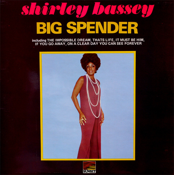 Bassey, Shirley Big Spender Vinyl
