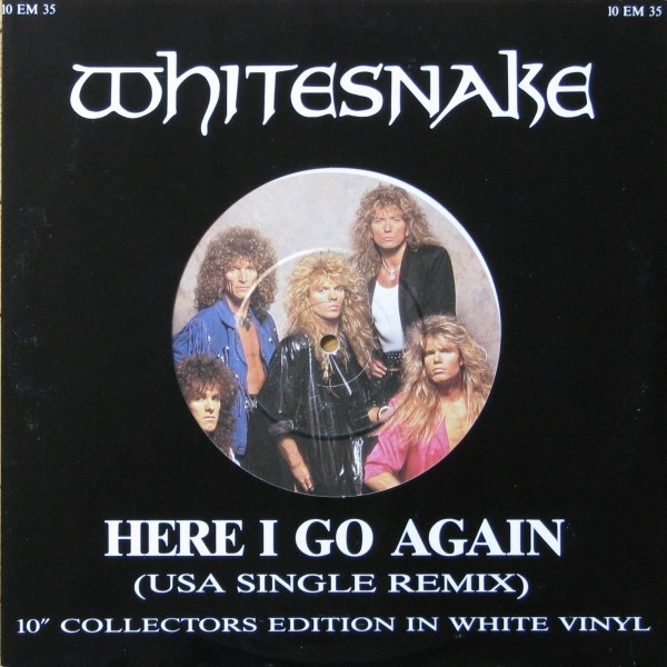 Whitesnake Here I Go Again (USA Single Remix)