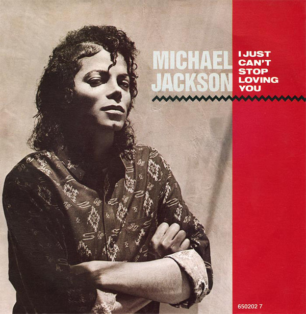 Jackson, Michael I Just Can't Stop Loving You Vinyl