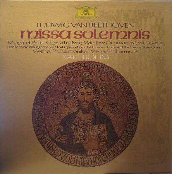 Beethoven - Margaret Price, Christa Ludwig, Wiestaw Ochman, Martti Talvela, Karl Bohm Missa Solemnis Vinyl