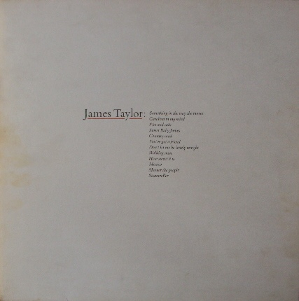 Taylor, James James Taylor's Greatest Hits Vinyl