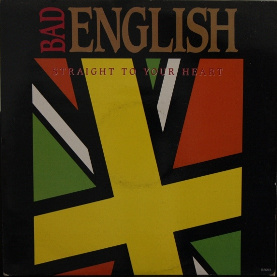 Bad English Straight To Your Heart Vinyl