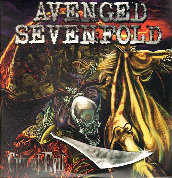 Avenged Sevenfold City Of Evil Vinyl
