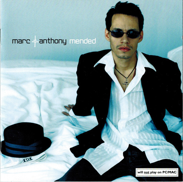 Anthony, Marc Mended CD