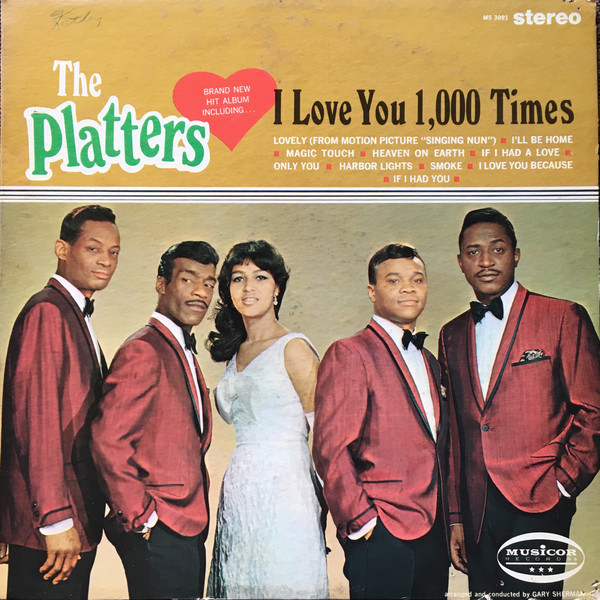 Platters (The) I Love You 1,000 Times Vinyl