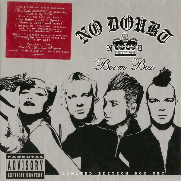 No Doubt Boom Box Vinyl