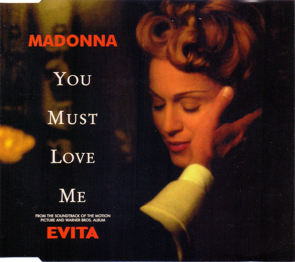 Madonna You Must Love Me CD