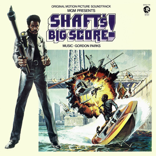 Gordon Parks Shaft's Big Score! Vinyl