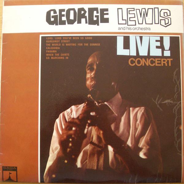 Lewis, George Live Concert Vinyl