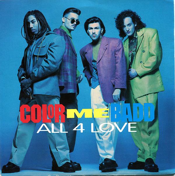 Color Me Badd All 4 Love