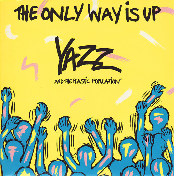 Yazz And The Plastic Population ‎ The Only Way Is Up Vinyl