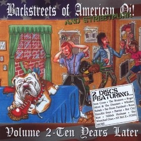 Various Artists Backstreets Of American Oi! And Streetpunk Volume 2 - Ten Years Later
