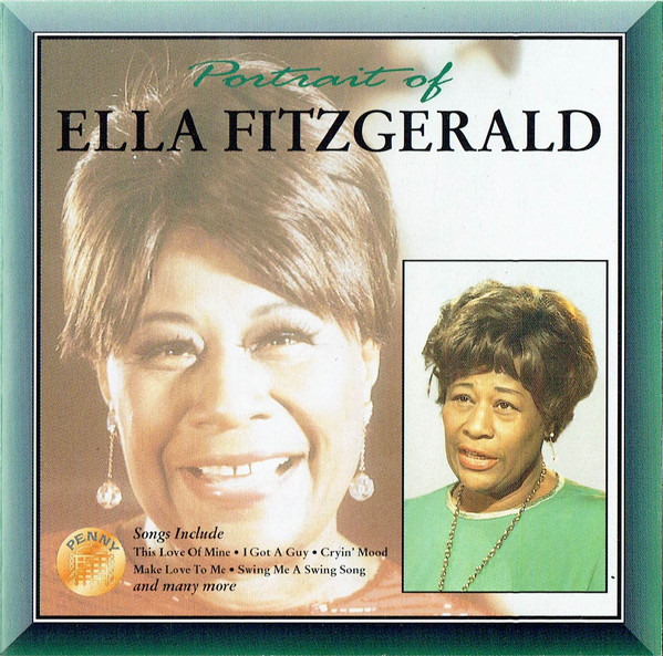 Fitzgerald, Ella Portrait Of Ella Fitzgerald