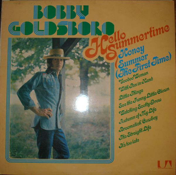 Goldsboro, Bobby Hello Summertime  Vinyl