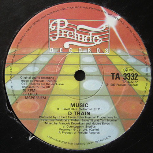D Train Music Vinyl