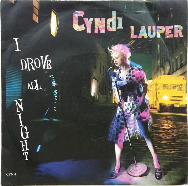 Lauper, Cyndi I Drove All Night Vinyl