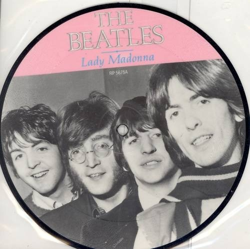 Beatles, The Lady Madonna / The Inner Light