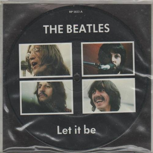 Beatles, The Let It Be / You Know My name (Look Up My Number)