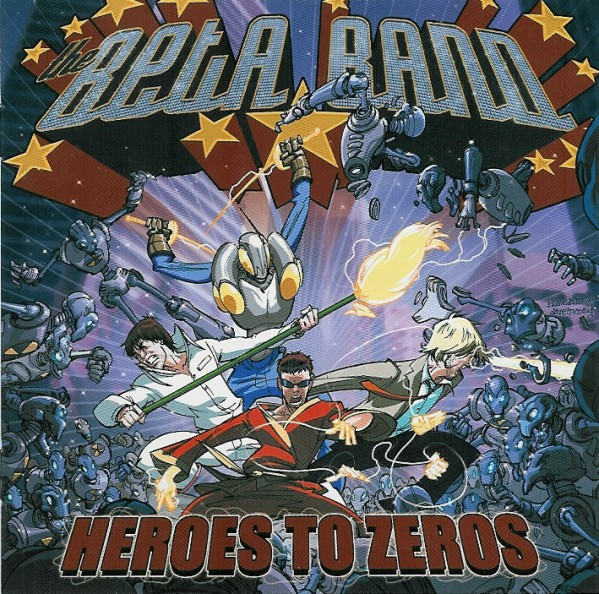 The Beta Band Heroes To Zeros CD