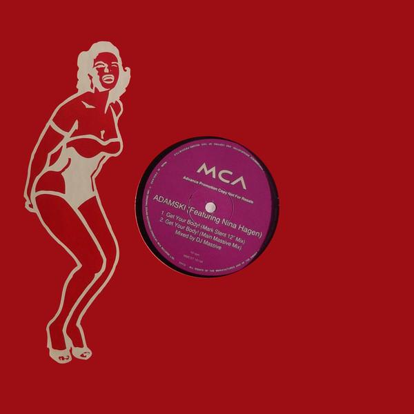 Adamski Get Your Body! Vinyl