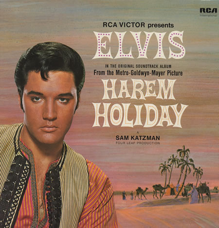 Elvis Presley Harem Holiday Vinyl