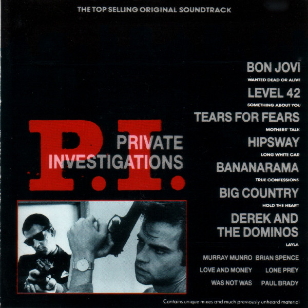 Original Soundtrack P.I. Private Investigations Vinyl
