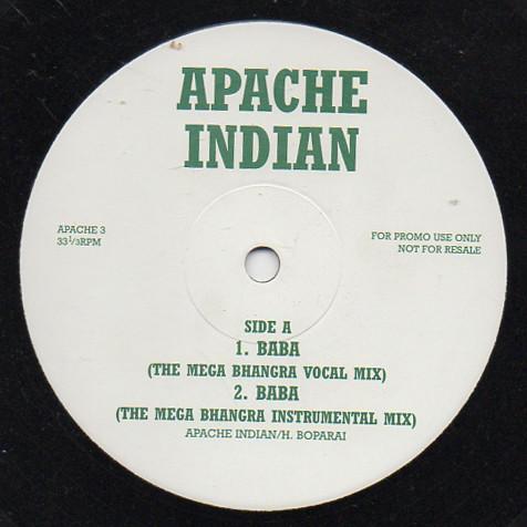 Apache Indian Baba Vinyl