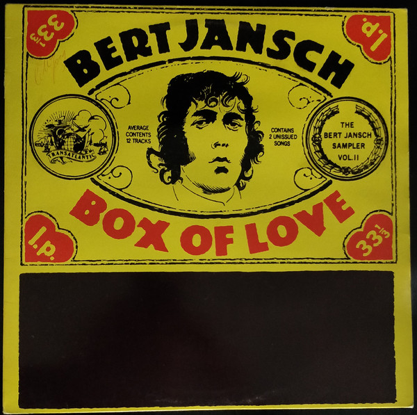 Jansch, Bert Box Of Love (The Bert Jansch Sampler Vol. II) Vinyl