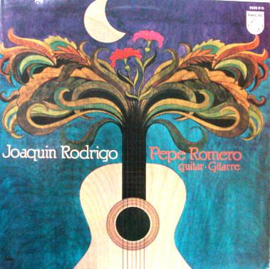 Joaquín Rodrigo - Pepe Romero Solo Works For Guitar Vinyl