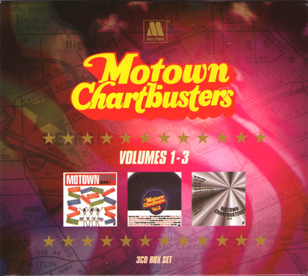 Various Motown Chartbusters Volumes 1-3  CD